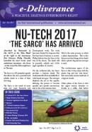 Front cover Sept 2017 Deliverance newsletter